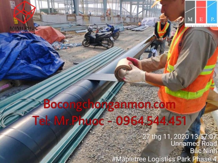Keo quấn bitum ống ngầm Premcote Anh Quốc3