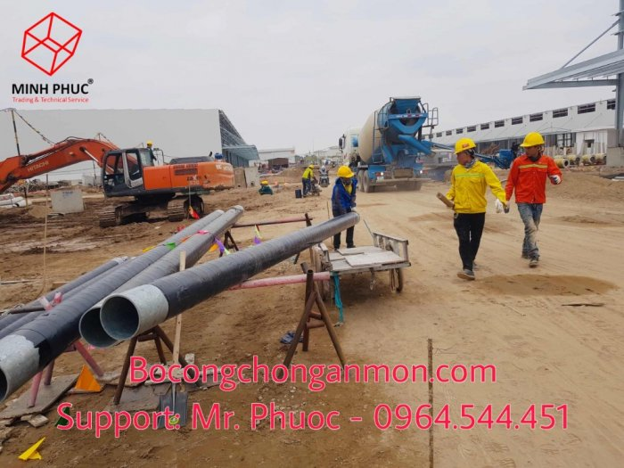 Keo quấn bitum ống ngầm Premcote Anh Quốc1