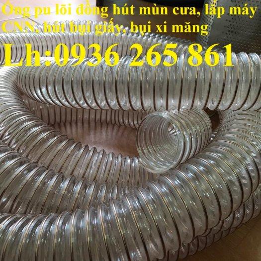 Ống nhựa Pu lõi đồng hút phế liêu, dẫn khí, dẫn hơi hóa chất hàng cao cấp17
