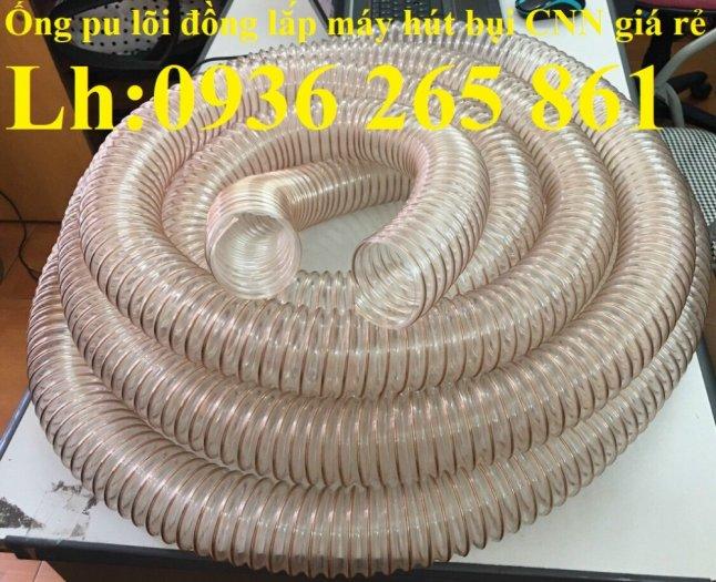 Ống nhựa Pu lõi đồng hút phế liêu, dẫn khí, dẫn hơi hóa chất hàng cao cấp15