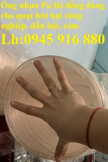 Ống nhựa Pu lõi đồng hút phế liêu, dẫn khí, dẫn hơi hóa chất hàng cao cấp14