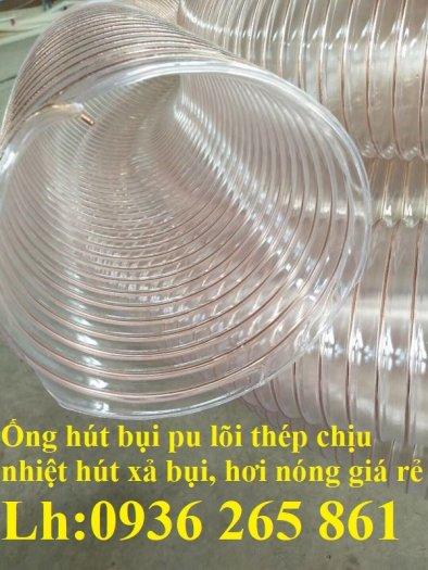 Ống nhựa Pu lõi đồng hút phế liêu, dẫn khí, dẫn hơi hóa chất hàng cao cấp9