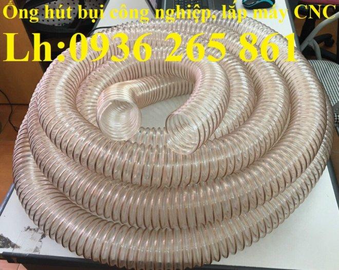 Ống nhựa Pu lõi đồng hút phế liêu, dẫn khí, dẫn hơi hóa chất hàng cao cấp6