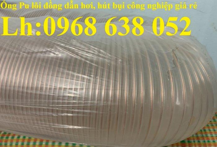 Ống nhựa Pu lõi đồng hút phế liêu, dẫn khí, dẫn hơi hóa chất hàng cao cấp5