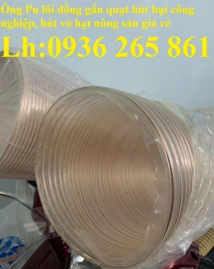 Ống nhựa Pu lõi đồng hút phế liêu, dẫn khí, dẫn hơi hóa chất hàng cao cấp3