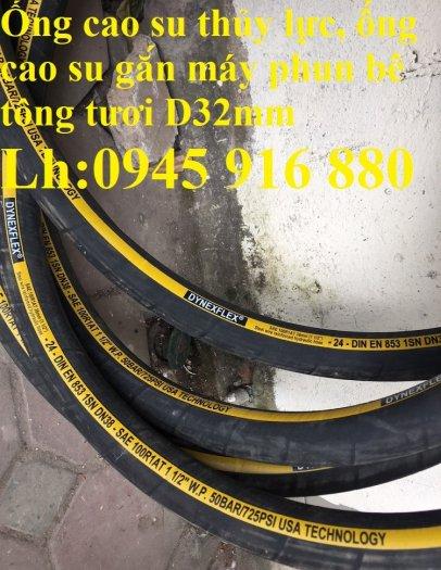 Ống cao su mành thép phi32 chuyên dùng cho máy phun vữa, phun bê tông tươi chất lượng cao5