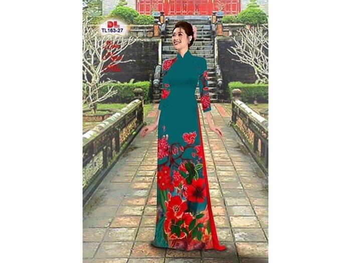 Vải áo dài lụa ngọc mai cao cấp TL 163-270