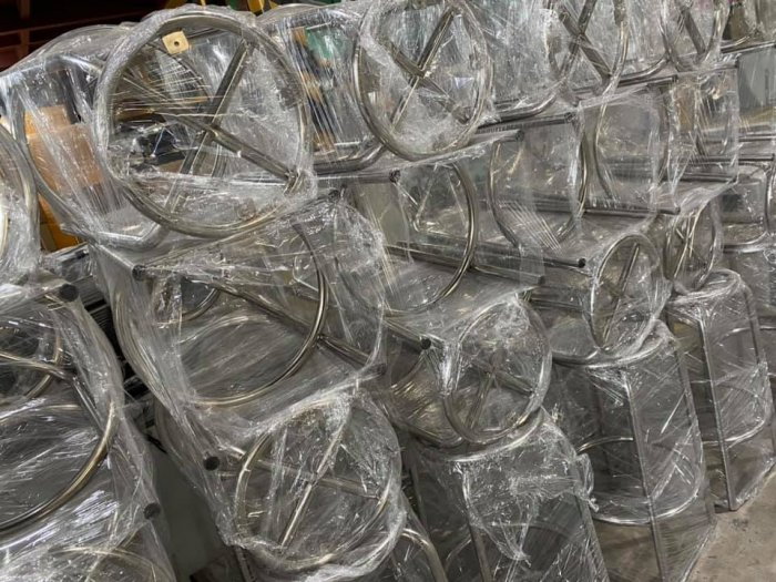 Ghế inox dùng cho phòng thí nghiệm, phòng sạch8