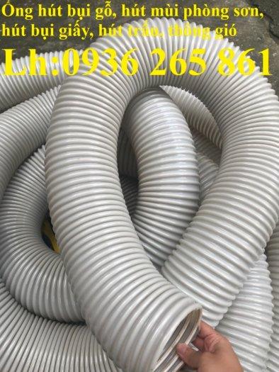 Ống nhựa ruột gà lắp quạt hút bụi gỗ, bụi giấy, bụi xi măng, hút vỏ hạt nông sản, hút mùi sơn20