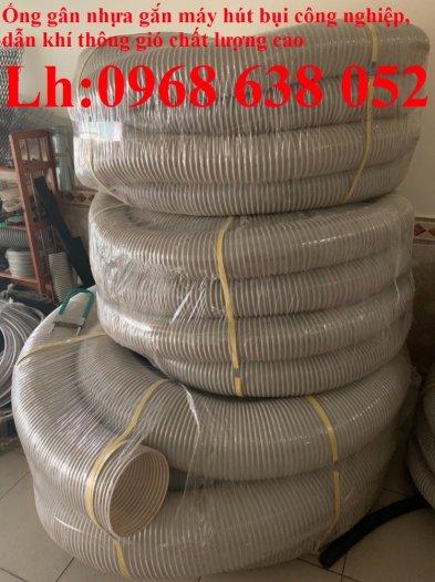 Ống nhựa ruột gà lắp quạt hút bụi gỗ, bụi giấy, bụi xi măng, hút vỏ hạt nông sản, hút mùi sơn18