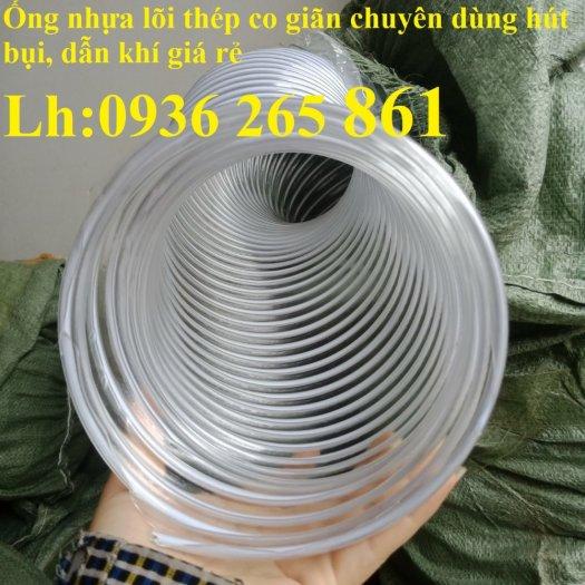 Ống nhựa ruột gà lắp quạt hút bụi gỗ, bụi giấy, bụi xi măng, hút vỏ hạt nông sản, hút mùi sơn11