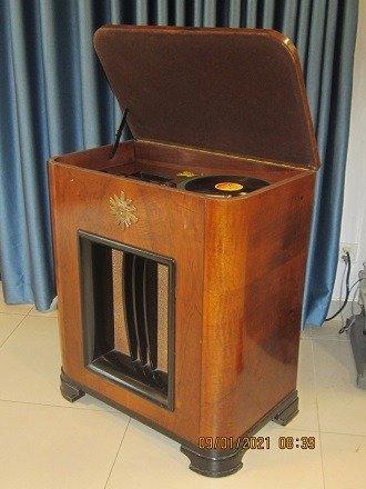Chiếc đài quay đĩa điện tử  Telavox rất hiếm – có ảnh thật15