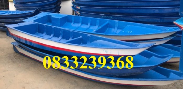 Thuyền composite chở 3 người, thuyền tam bản 3m, Thuyền chèo tay 3m1