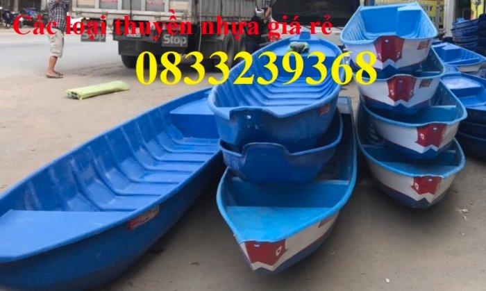 Thuyền composite chở 3 người, thuyền tam bản 3m, Thuyền chèo tay 3m0