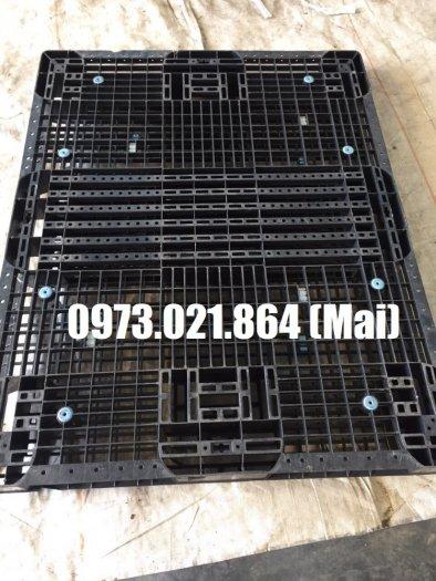 Thanh lý pallet nhựa cũ Đồng Nai , giá rẻ đến bất ngờ5