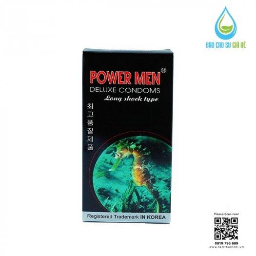Bao Cao Su Powermen Cá Ngựa 4 In 1 (Hộp 12 Cái) Tặng Gel Bôi Trơn cao cấp2