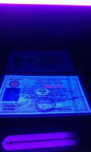 Đèn UV - Magic Eye 03 soi tiền, giấy tờ xe, vé số...1