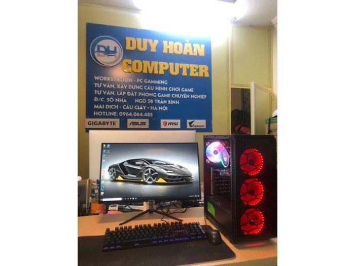 """Trọn bộ pc Ram 16G + màn hình 24"""" LED full HD4"""