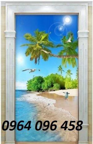 Tranh cảnh biển - gạch tranh 3d cảnh biển - FKK98