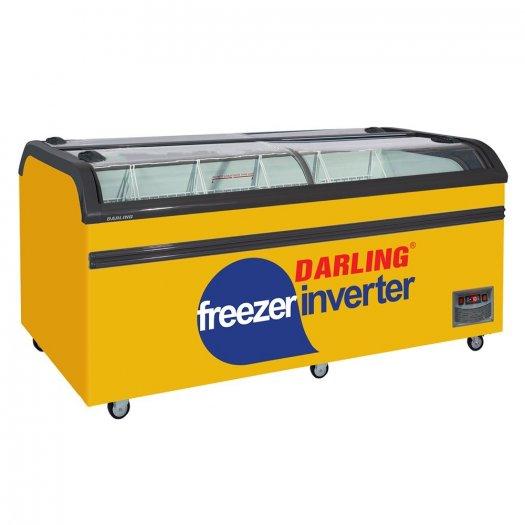 Tủ Đông Inverter Darling DMF-10079ASKI 1000 Lít 4 Kiếng Cong 2 Bên0
