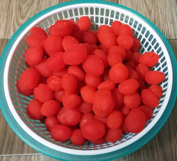 Hủ 500gr Đào tươi giòn tam sắc chua ngọt tự nhiên - Food by Mama2