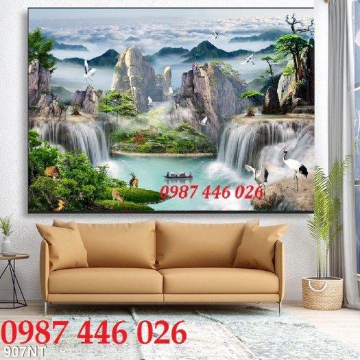 Gach tranh phong cảnh tự nhiên HP04743