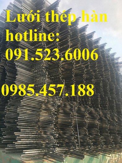 Cung cấp lưới thép hàn D6 ô (200x200) dạng tấm giá tốt