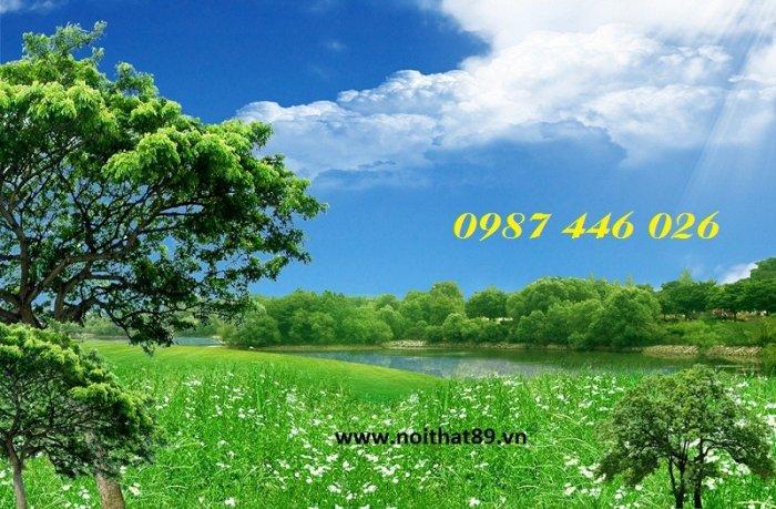 Gạch tranh 3d phong cảnh HP12694