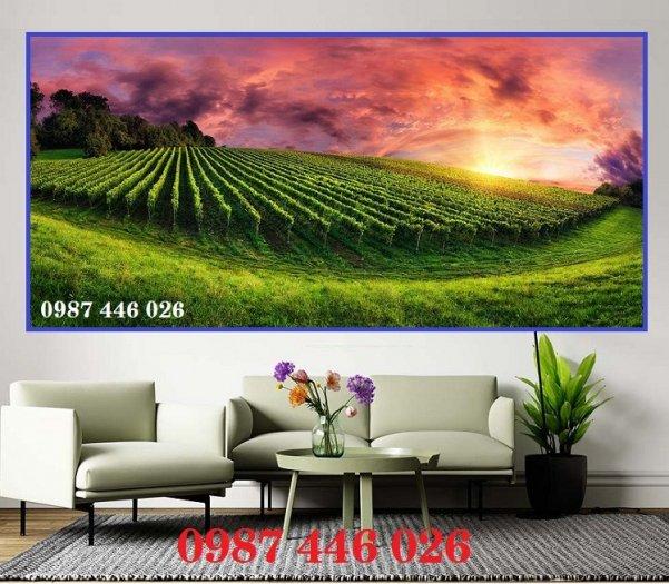 Gạch tranh 3d phong cảnh HP12692