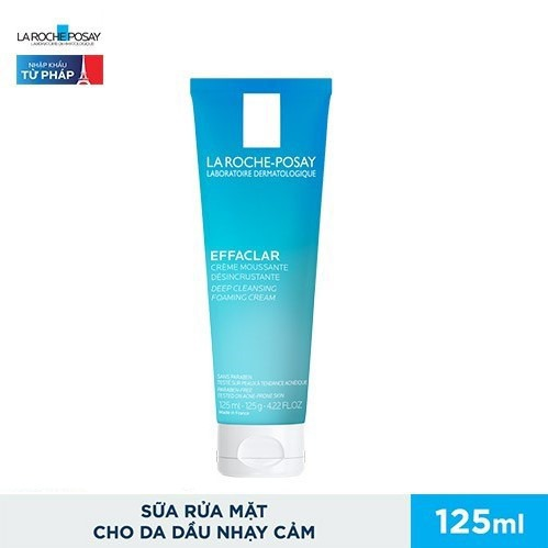 Sữa Rửa Mặt La Roche Posay Effaclar Deep Cleansing Foaming Cream 125ml3