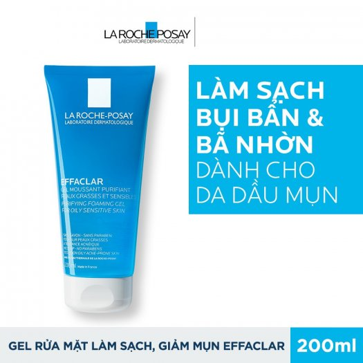 Gel Rửa Mặt Tạo Bọt La Roche Posay Effaclar Purifying Foaming Gel For Oily Sensitive Skin 200ml1