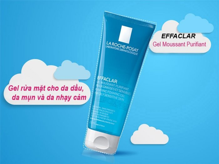 Gel Rửa Mặt Tạo Bọt La Roche Posay Effaclar Purifying Foaming Gel For Oily Sensitive Skin 200ml0