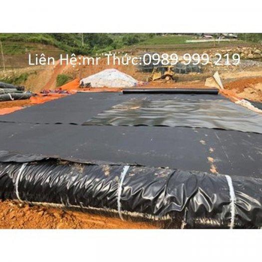 Màng Chống Thấm Hay Tấm Chống Thấm Hdpe khổ  rộng 3,4,5,6m dài 25,50,60,80,100m Hồ Nuôi Tôm, Hầm Biogas..1