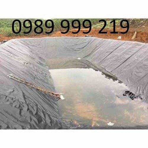 Màng Chống Thấm Hay Tấm Chống Thấm Hdpe khổ  rộng 3,4,5,6m dài 25,50,60,80,100m Hồ Nuôi Tôm, Hầm Biogas..0