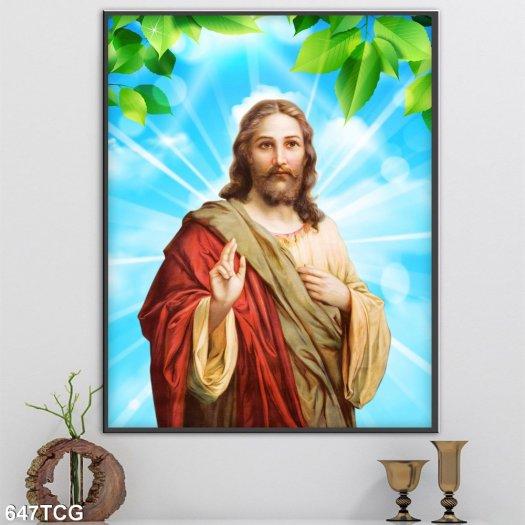 Tranh gạch công giáo2