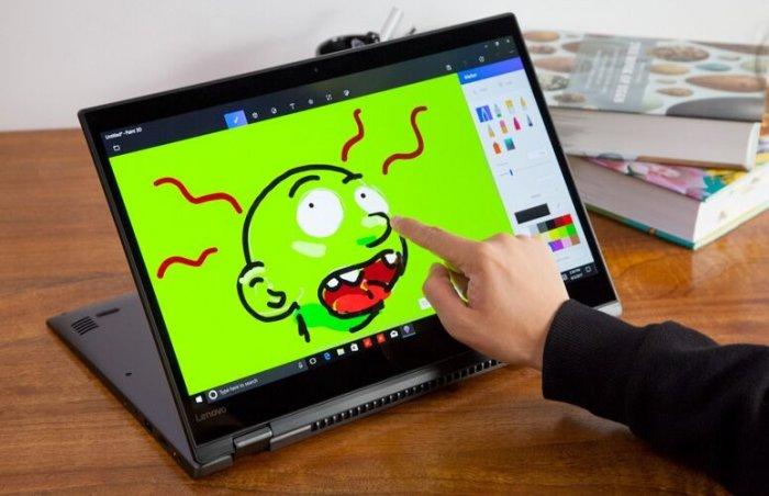 Laptop Lenovo Yoga Flex 5 - 1570/ i7 7500U/ 16G/ SSD256/ Full HD/ Vga rời GT940MX/ Viền Mỏng/ Lật Xoay 360/ Cảm ứng/ Giá rẻ4