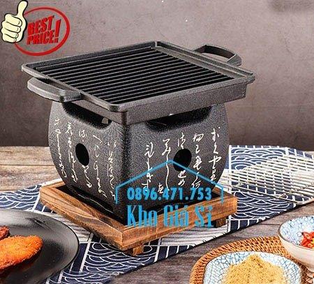 Bếp nướng gang kiểu Nhật - Lò nướng Nhật Bản - Bếp nướng than bằng gang kiểu Nhật HCM3