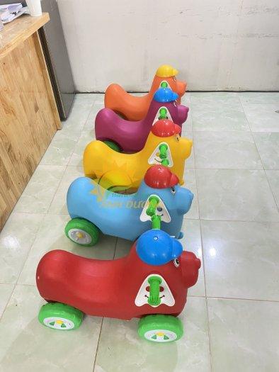 Xe chòi chân nhiều màu sắc dành cho trẻ em mầm non11