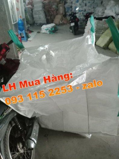 Bao jumbo 1 tấn đựng lúa gạo, Bao jumbo ủ chua thức ăn chăn nuôi2
