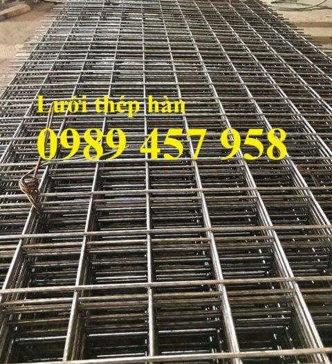 Chuyên Lưới thép đổ sàn bê tông đổ đường chống nứt phi 4, Lưới thép phi 4 ô 200x200, 250x25011