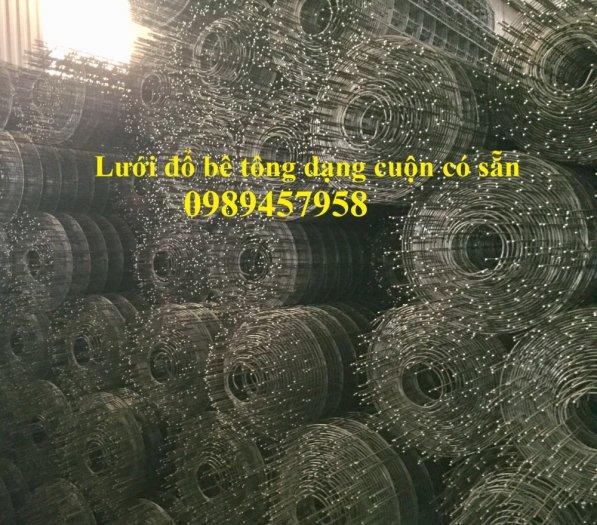Chuyên Lưới thép đổ sàn bê tông đổ đường chống nứt phi 4, Lưới thép phi 4 ô 200x200, 250x2508