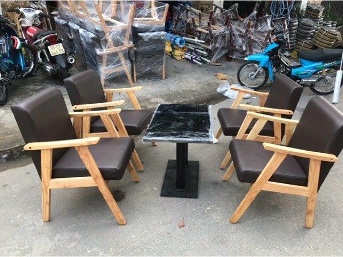 Ghế sofa gỗ nệm giá ưu đãi - nội thất Nguyễn hoàng2
