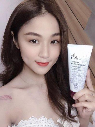 Sữa Rửa Mặt Than Hoạt Tính Trắng Da Ngừa Mụn Charme Charcoal Hàn Quốc 100ml2