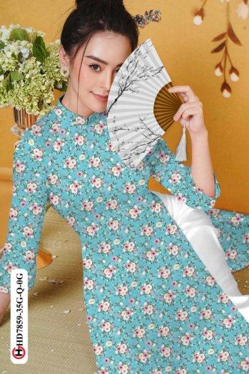 Vải áo dài HD 785912