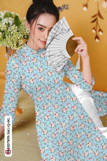 Vải áo dài HD 78598