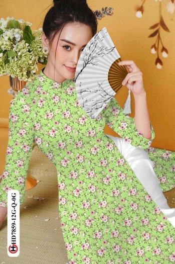 Vải áo dài HD 78596