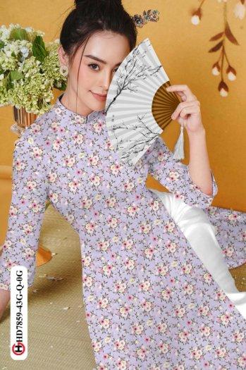 Vải áo dài HD 78595