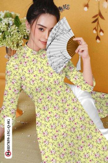 Vải áo dài HD 78593