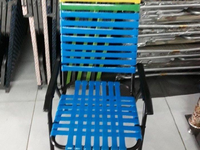 Ghế xếp đây nhựa sắc sơn tĩnh điện giá s0