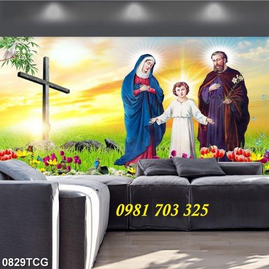 Tranh gạch công giáo, tranh ia đình thánh gia4